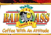 image of logo of Bad Ass Coffee franchise business opportunity Bad Ass Coffee franchises Bad Ass Coffee franchising
