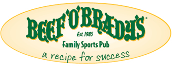 image of logo of Beef O Bradys franchise business opportunity Beef O Bradys family sports bar franchises Beef O Bradys family sports pub franchising