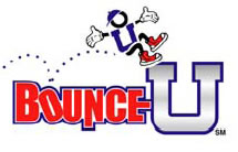 image of logo of BounceU franchise business opportunity Bounce U franchises Bounce You franchising