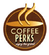 image of logo of Coffee Perks franchise business opportunity Coffee Perks vending franchises Coffee Perks franchising