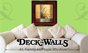 image of logo of Deck the Walls franchise business opportunity Deck the Walls franchises Deck the Walls franchising