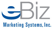 image of logo of eBiz Marketing Systems franchise business opportunity eBiz Internet Marketing Consultant franchises eBiz Marketing Systems franchising