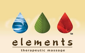 image of logo of Elements Therapeutic Massage franchise business opportunity Elements Massage franchises Elements franchising