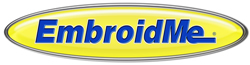 image of logo of EmbroidMe franchise business opportunity Embroid Me franchises EmbroidMe franchising