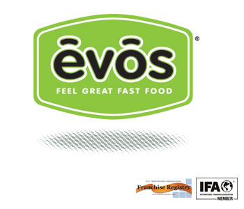 image of logo of Evos franchise business opportunity Evos franchises Evos franchising