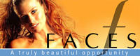 image of logo of FACES franchise business opportunity Faces franchises FACES franchising