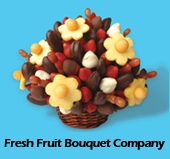 image of logo of Fresh Fruit Bouquet Company franchise business opportunity Fresh Fruit Bouquet franchises Fresh Fruit franchising