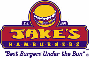 image of logo of Jake's Hamburgers franchise business opportunity Jake's Hamburger franchises Jake's Hamburgers franchising
