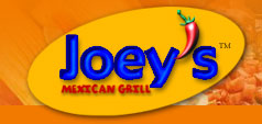 image of logo of Joey's Mexican Grill franchise business opportunity Joey's Mexican food franchises Joey's Mexican Grill restaurant franchising