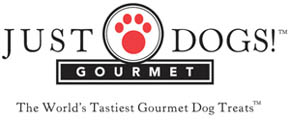image of logo of Just Dogs Gourmet Dog Treats franchise business opportunity Just Dogs franchises Just Dogs dog treats franchising