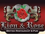 image of logo of Lion & Rose Restaurant & Pub franchise business opportunity Lion & Rose Restaurant franchises Lion & Rose Pub franchising