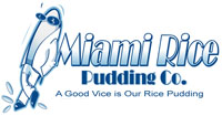 image of logo of Miami Rice Pudding franchise business opportunity Miami Rice Pudding dessert franchises Miami Rice franchising