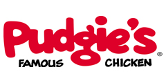image of logo of Pudgie's Famous Chicken franchise business opportunity Pudgie's Chicken franchises Pudgie's franchising