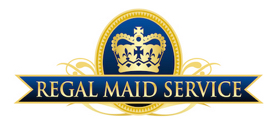 image of logo of Regal Maid Service franchise business opportunity Regal Maid Service franchises Regal Maid Service franchising