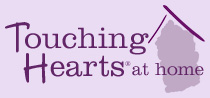 image of logo of Touching Hearts at Home franchise business opportunity Touching Hearts franchises Touching Hearts at Home franchising