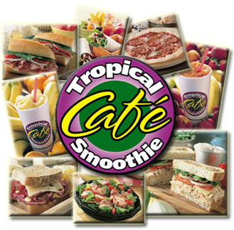 image of logo of Tropical Smoothie franchise business opportunity Tropical Smoothie franchises Tropical Smoothie franchising