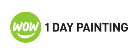 image of logo of WOW 1 DAY PAINTING franchise business opportunity WOW 1 DAY PAINTING franchises WOW 1 DAY PAINTING franchising